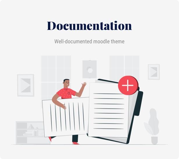 Moodle - Theme documentation